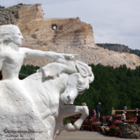 No sign of stopping after 65 years, Crazy Horse monument still under construction