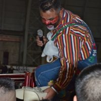 Everyone loves a rodeo clown…dancing