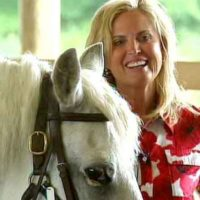 TV news host defends Ann Romney's horse therapy for MS